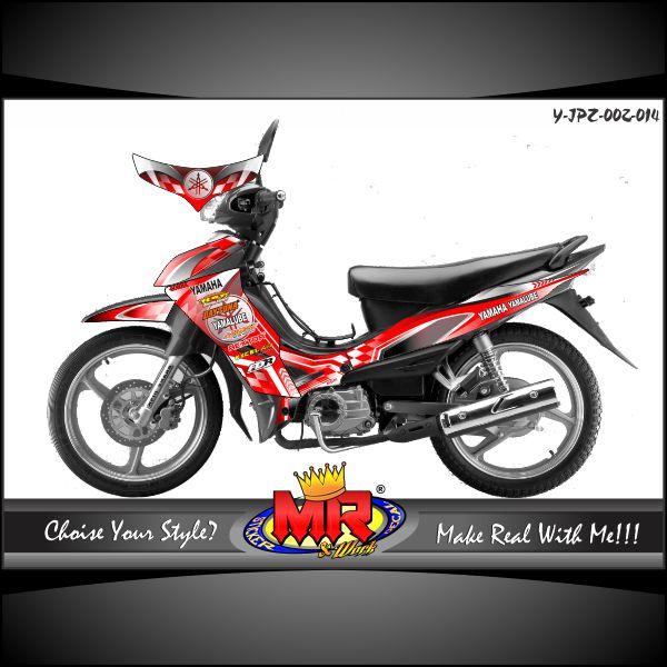 Jupiter Z Red Yamaha Tech