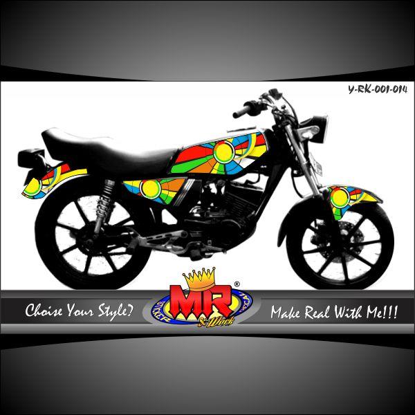 Logo Yamaha Rx King Vector