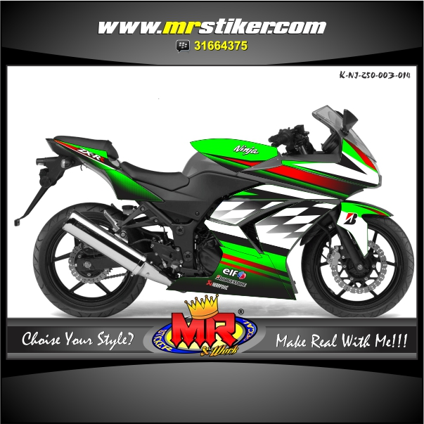 stiker-motor-kawasaki-ninja-250-green-fighter-racing