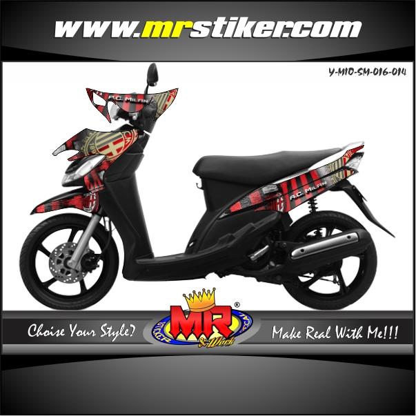 stiker-motor-mio-sporty-smile-ac-milan