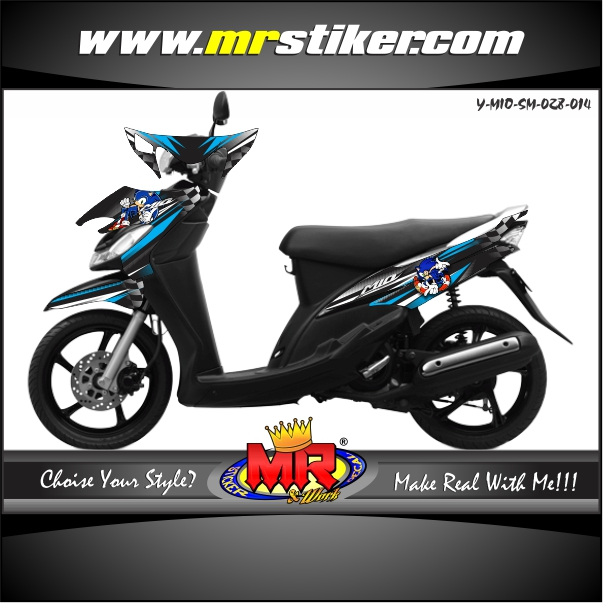 stiker-motor-mio-sporty-smile-blue-line-sonic