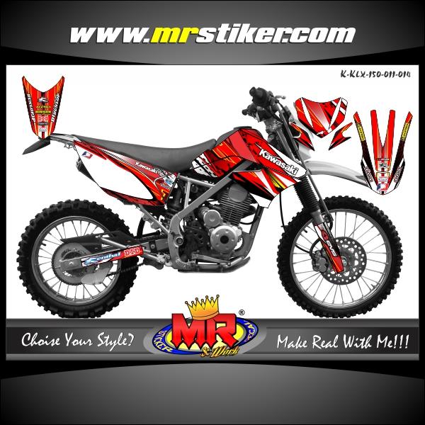 stiker-motor-klx-150-red-line