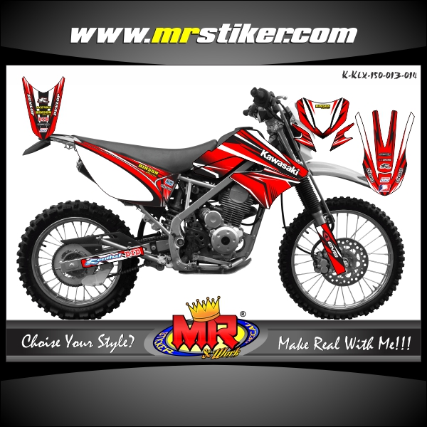 stiker-motor-klx-150-red-fighter