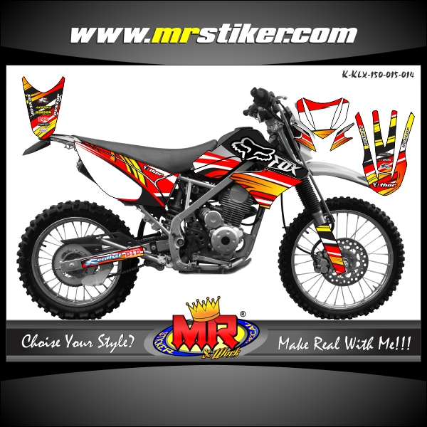 stiker-motor-klx-150-red-fox