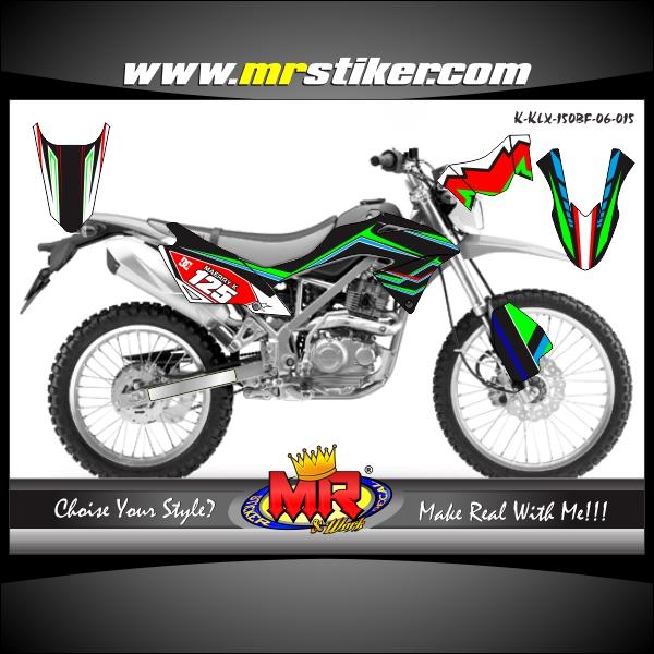 stiker-motor-klx-150-bf-racing-team-kawasaki