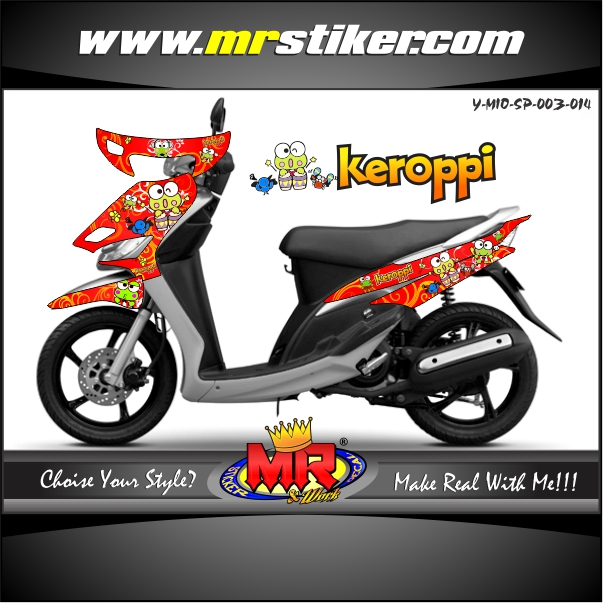 stiker-motor-mio-sporty-red-keroppi