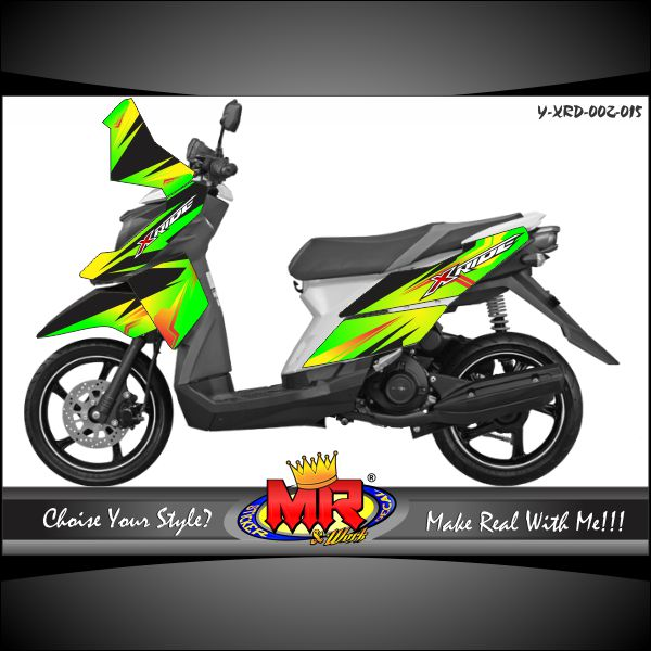 stiker-motor-x-ride-green-racing-fighter