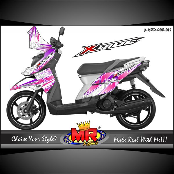stiker-motor-x-ride-white-pink-slash