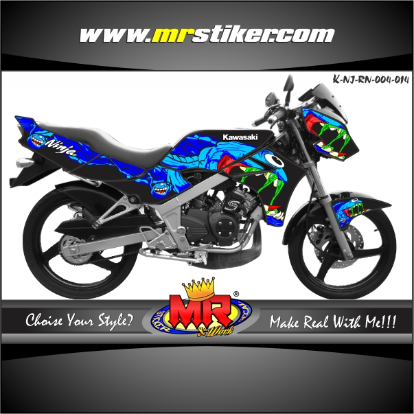 stiker-motor-ninja-r-new-black-monster