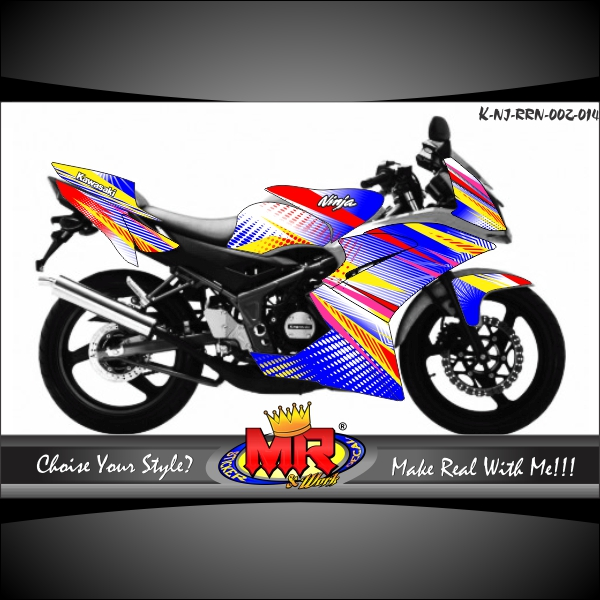 stiker-motor-ninja-rr-new-dot-pop-art