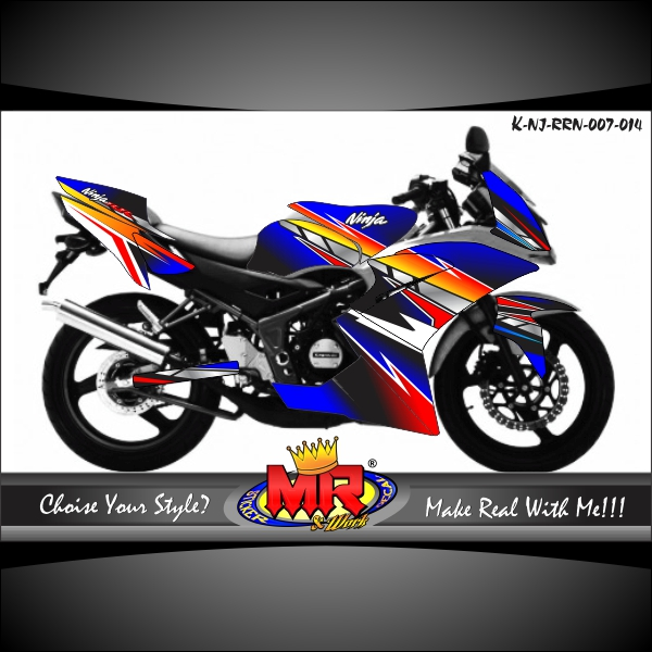 stiker-motor-ninja-rr-new-fire-tech-line