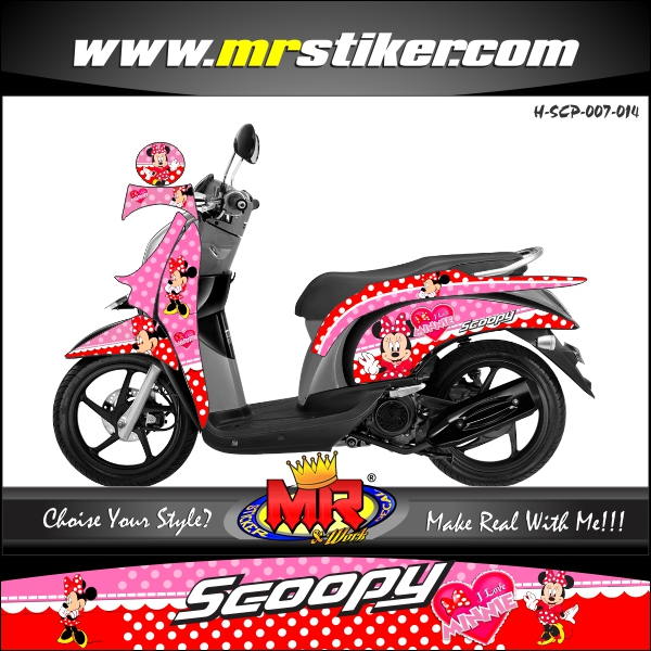 stiker-motor-scoopy-minnie-mouse
