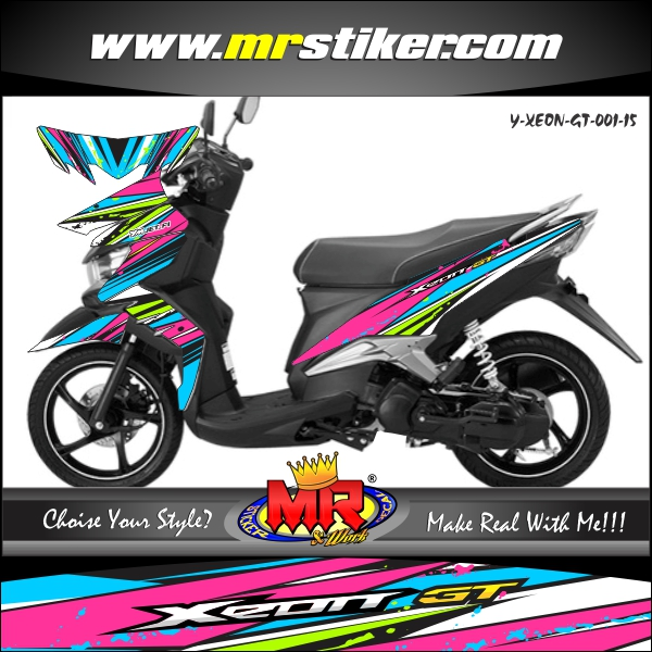stiker-motor-xeon-gt-racing-splater-colurfull