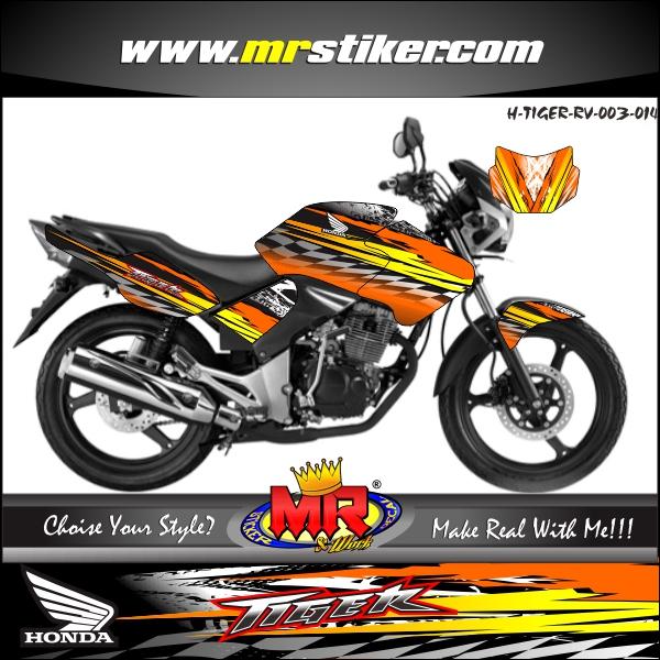 stiker-motor-tiger-revo-orange-line