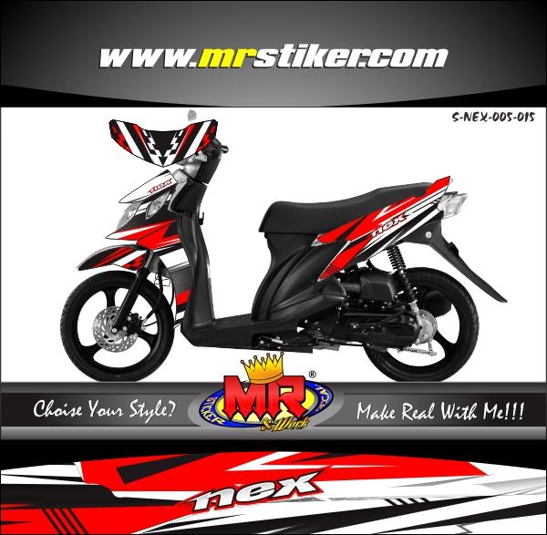 stiker-motor-suzuki-nex-red-racing-style