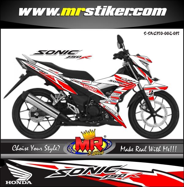 stiker-motor-sonic-150r-honda-racing-sporty-white
