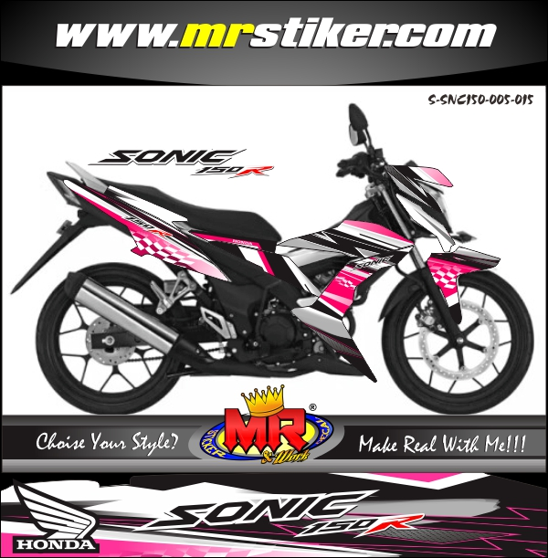 stiker-motor-sonic-150r-pinky-racing-style