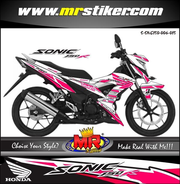 stiker-motor-sonic-150r-honda-racing-sporty-pink