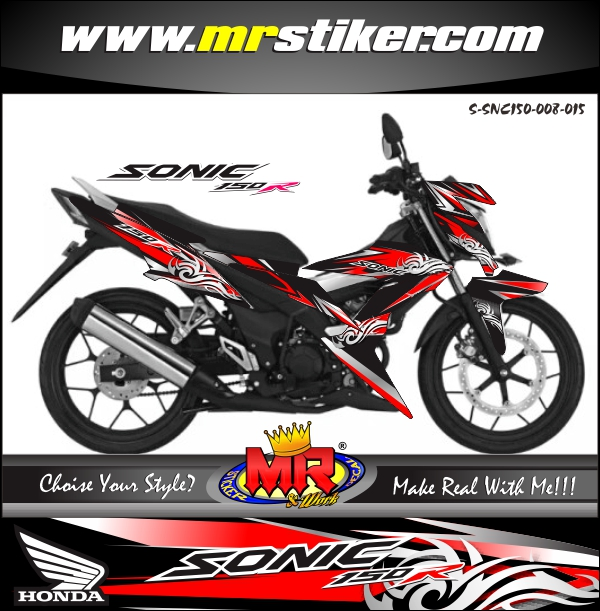 stiker-motor-sonic-150r-tribal-flash