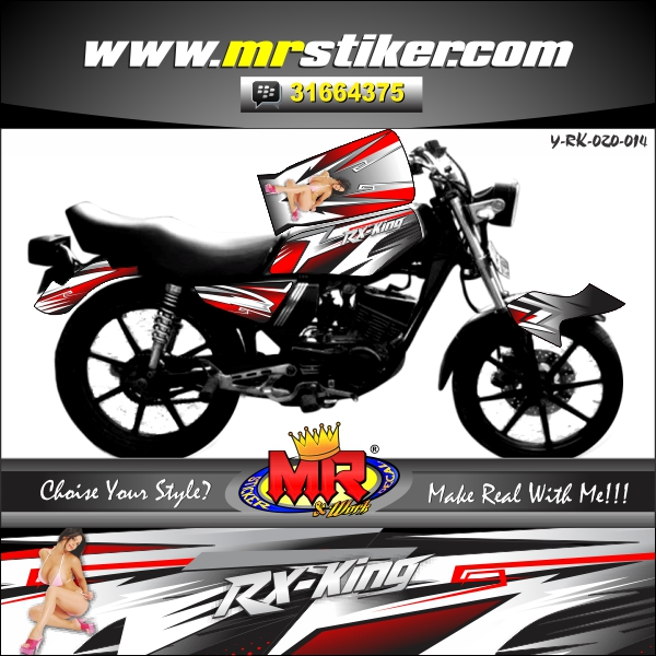 stiker-motor-rx-king-red-race-line-sexy-woman