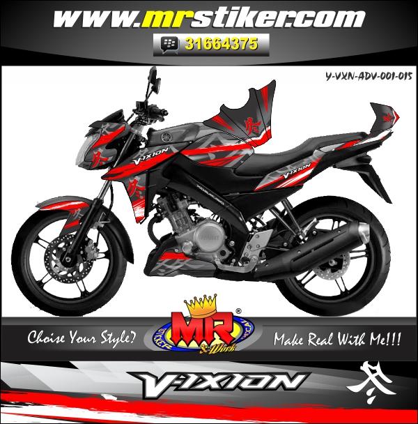 stiker-motor-vixion-advance-red-hayabuza