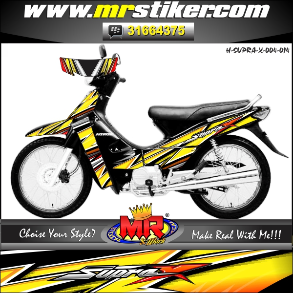 stiker-motor-supra-x-yellow-slash