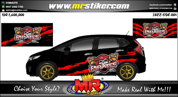 stiker-mobil-honda-jazz-pirates