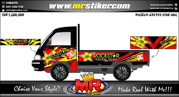 stiker-mobil-pick-up-rockstar