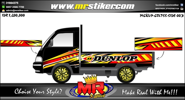 stiker-mobil-pick-up-dunlop