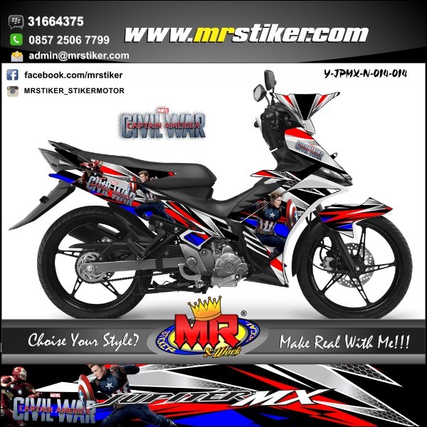 stiker-motor-jupiter-mx-new-civil-war-captain-america