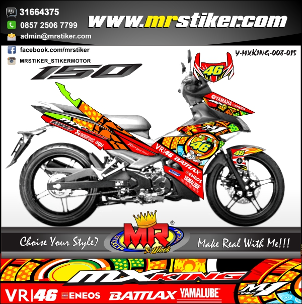 stiker-motor-mx-king-vr-46-sun-moon-red