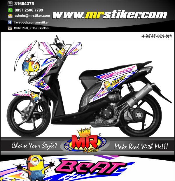 stiker-motor-beat-minions