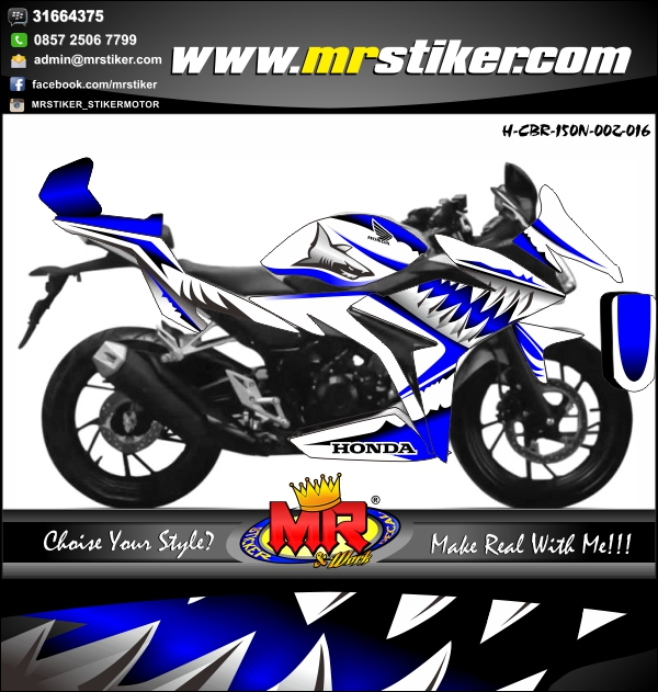stiker-motor-honda-cbr-150-new-shark-blue