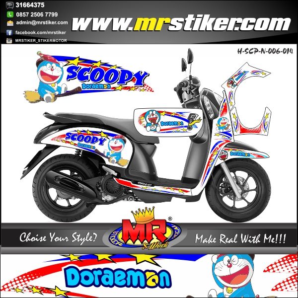 stiker-motor-scoopy-new-doraemon