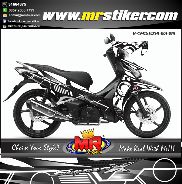 stiker-motro-supra-x-125-fi-helm-in-sun-moon-white-black
