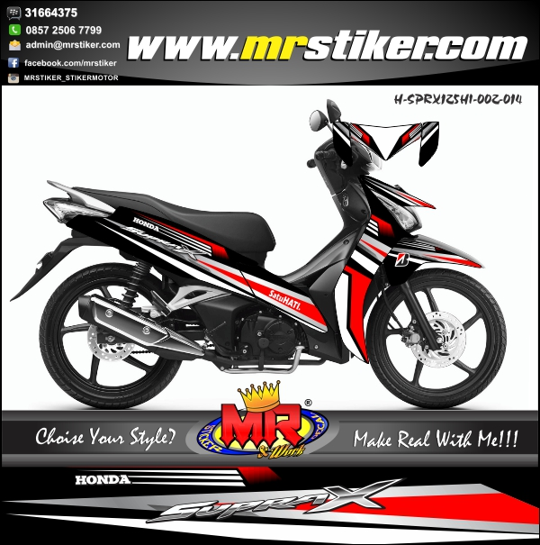 stiker-motor-supra-x-125-fi-helm-in-simple-grapic