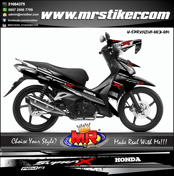stiker-motor-supra-x-125-fi-helm-in-crack-black