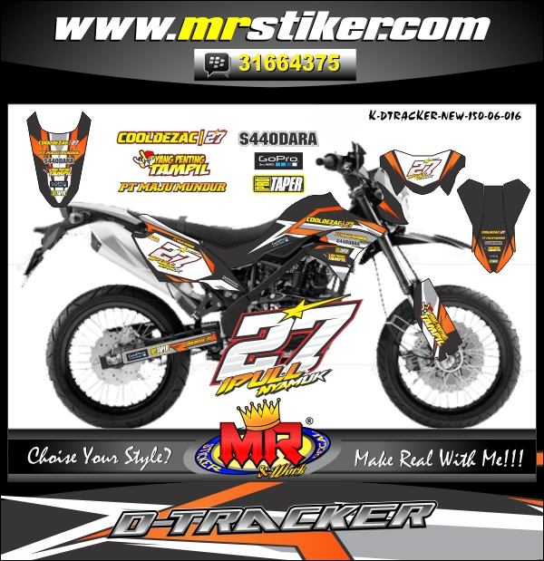 stiker-motor-d-tracker-black-orange-line