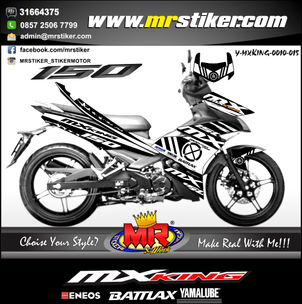 stiker-motor-mx-king-simple-black-white
