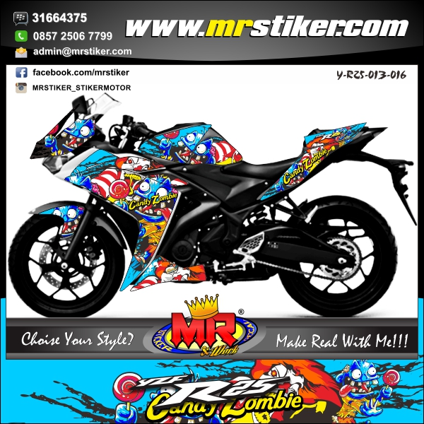 stiker-motor-yzf-r25-candy-zombie