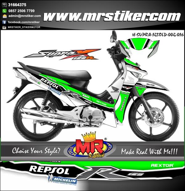 stiker-motor-honda-supra-x-125-old-green-race