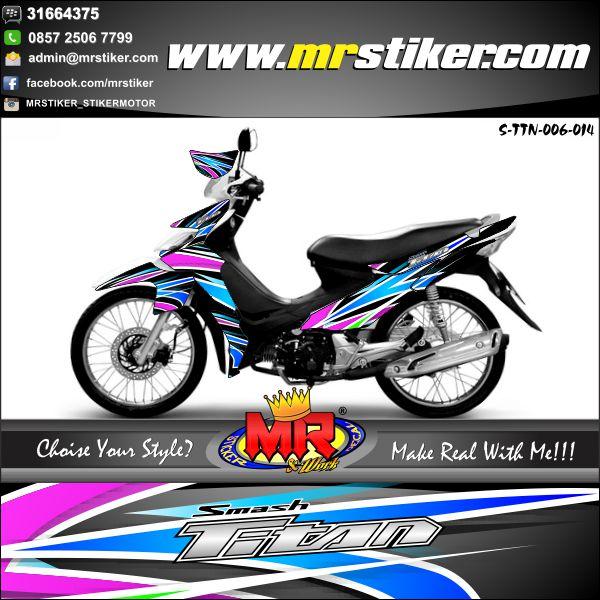 stiker-motor-titan-airbrush