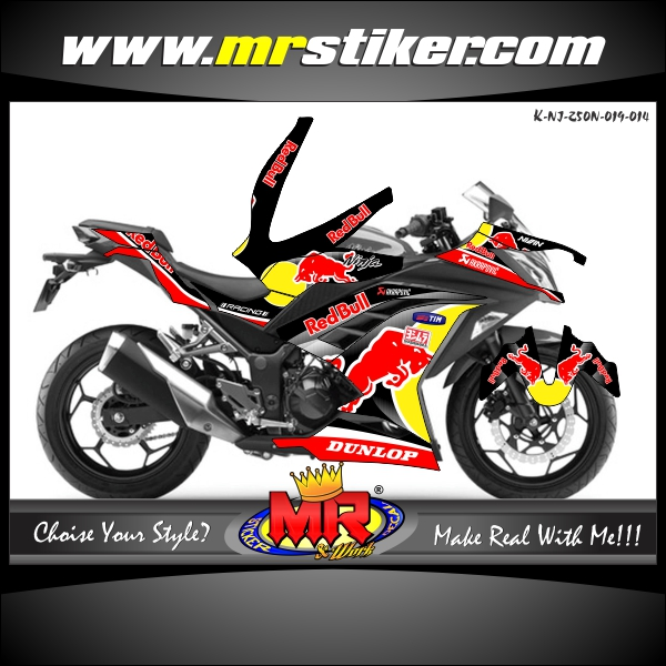 stiker-motor-ninja-250-new-red-bull-black
