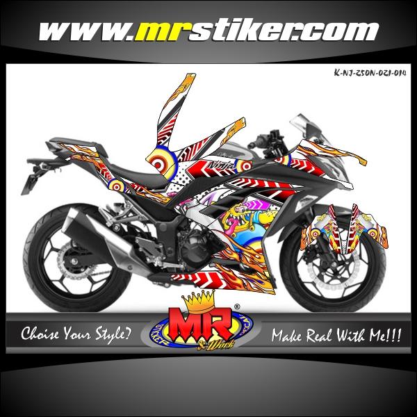 stiker-motor-ninja-250-new-zombie-fun