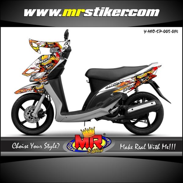 stiker-motor-mio-sporty-samurai-warrior