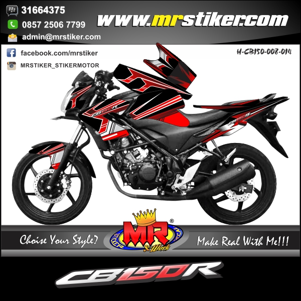 stiker-motor-cb-150-r-slash-red-black