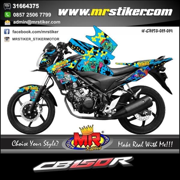 stiker-motor-cb-150-r-blue-zombie