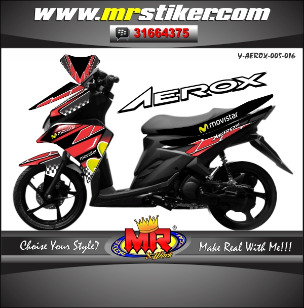 stiker-motor-aerox-black-red-movistar