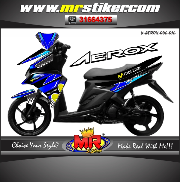 stiker-motor-aerox-blue-black-movistar
