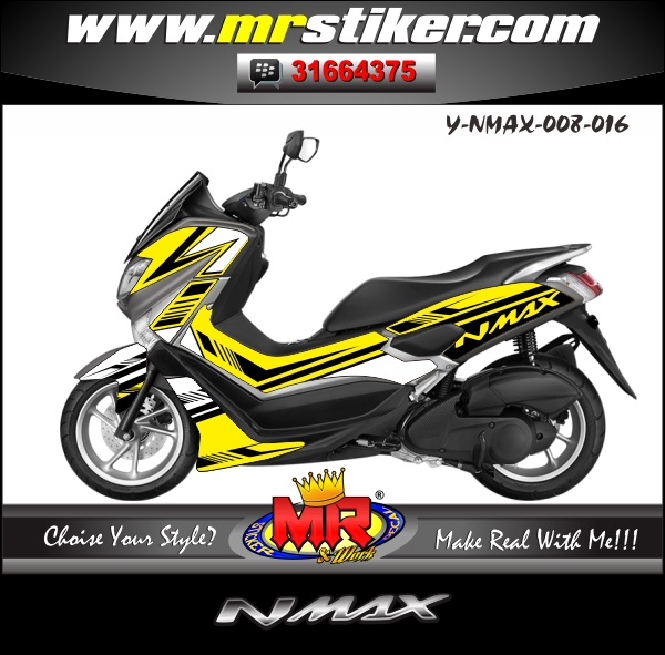stiker-motor-nmax-simple-yellow-white-black